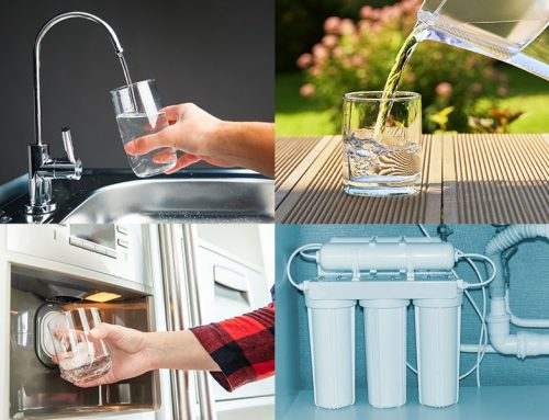 Comparing the different types of home water filters
