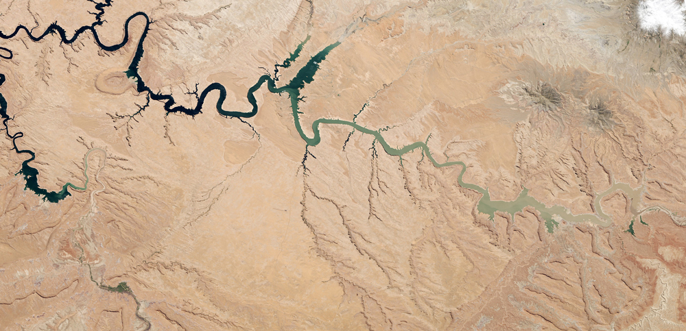 14 years of drought, Lake Powell