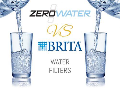 ZeroWater vs Brita Water Filters