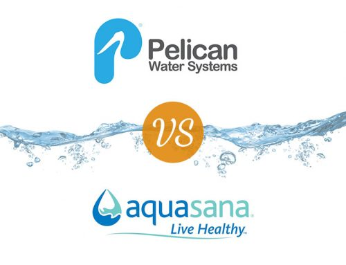 Aquasana vs Pelican: Whole house filters and water softeners (+ shower filters)